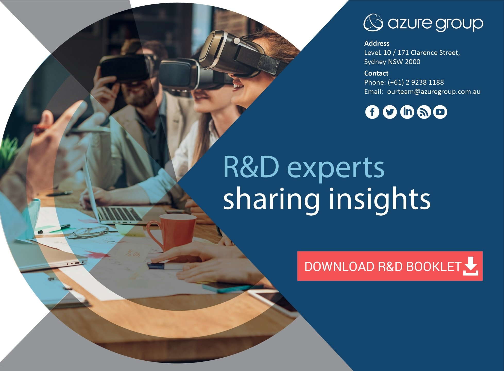 Download R&D booklet - Azure Group R&D Experts-1